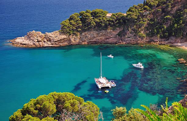 Küste Costa Brava, Spanien – Foto