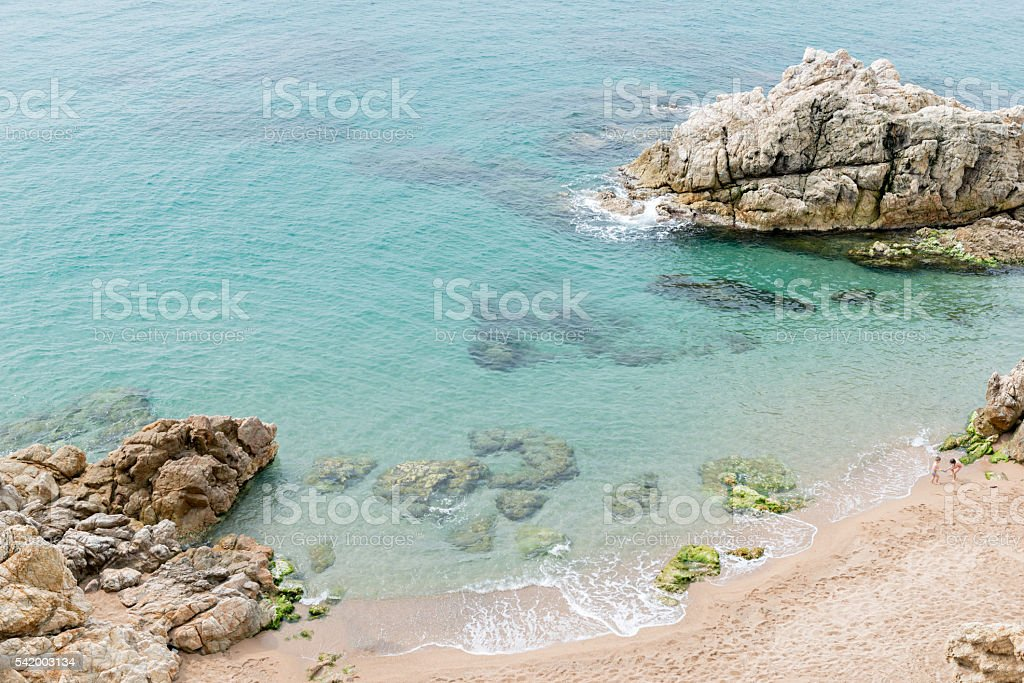 Costa Brava - Girona (Spain) stock photo
