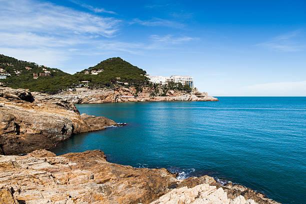 Costa Brava - foto de stock