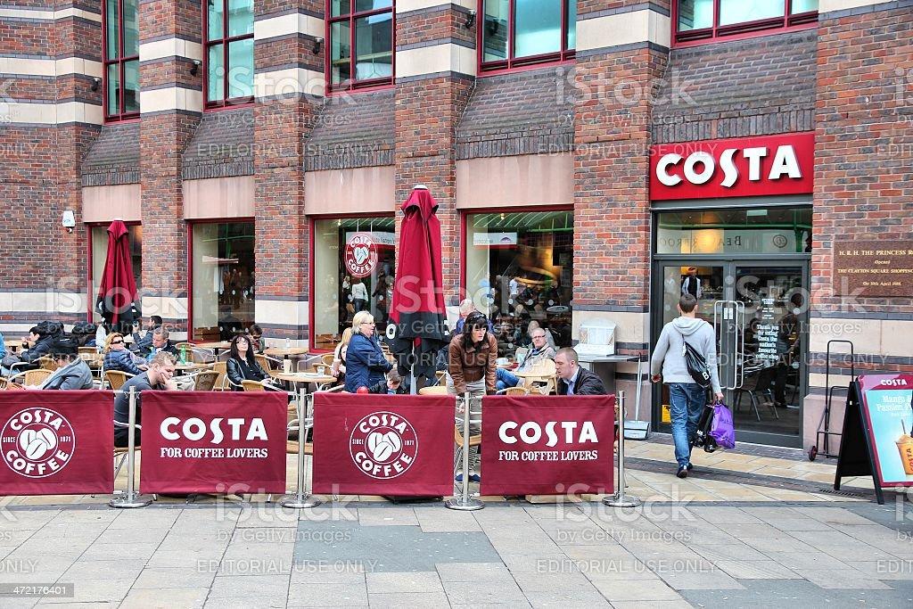Costa Coffee stock photo