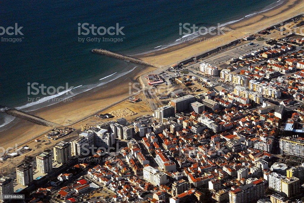 Costa da Caparica, Portugal stock photo