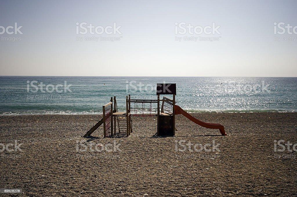 Costa Del Sol Coastline royalty-free stock photo