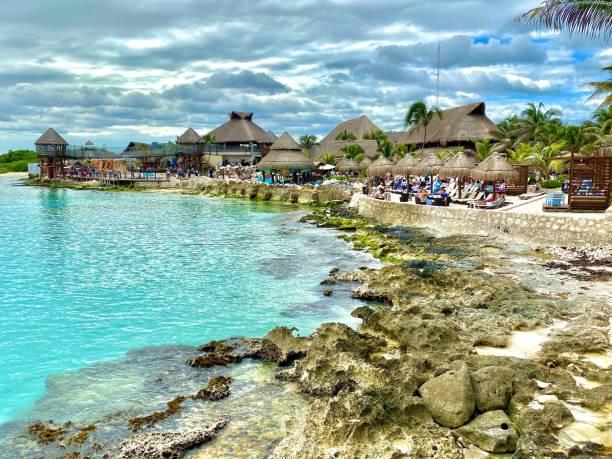 Costa Maya Mexico stock photo