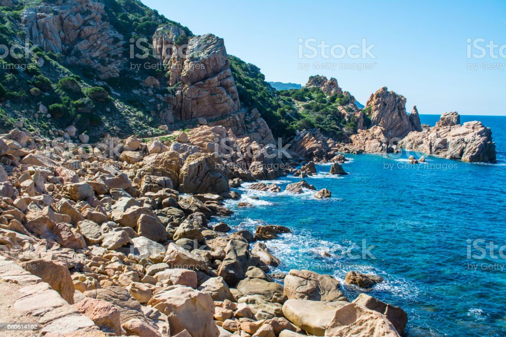 Costa Paradiso in sprin royalty-free stock photo