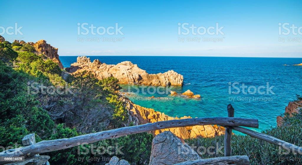 Costa Paradiso in spring royalty-free stock photo