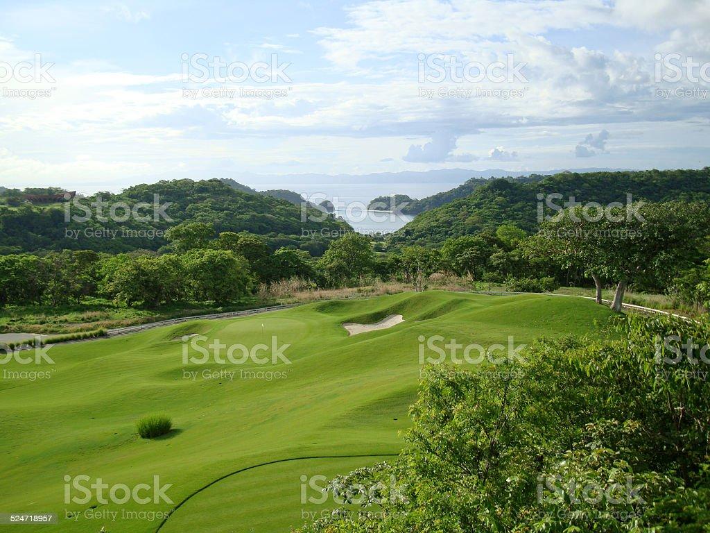 Costa Rica Golf stock photo