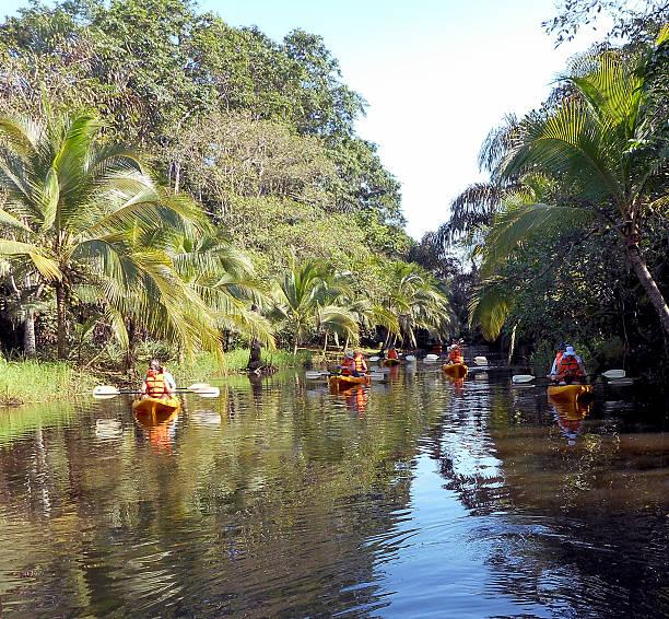 Costa Rica Kayaks stock photo