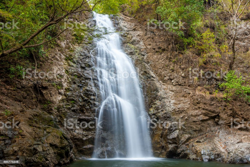 Costa Rica Montezuma tombe Puntarenas cascade Nicoya photo libre de droits