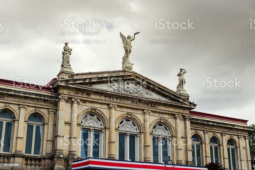 Costa Rica National Theater stock photo