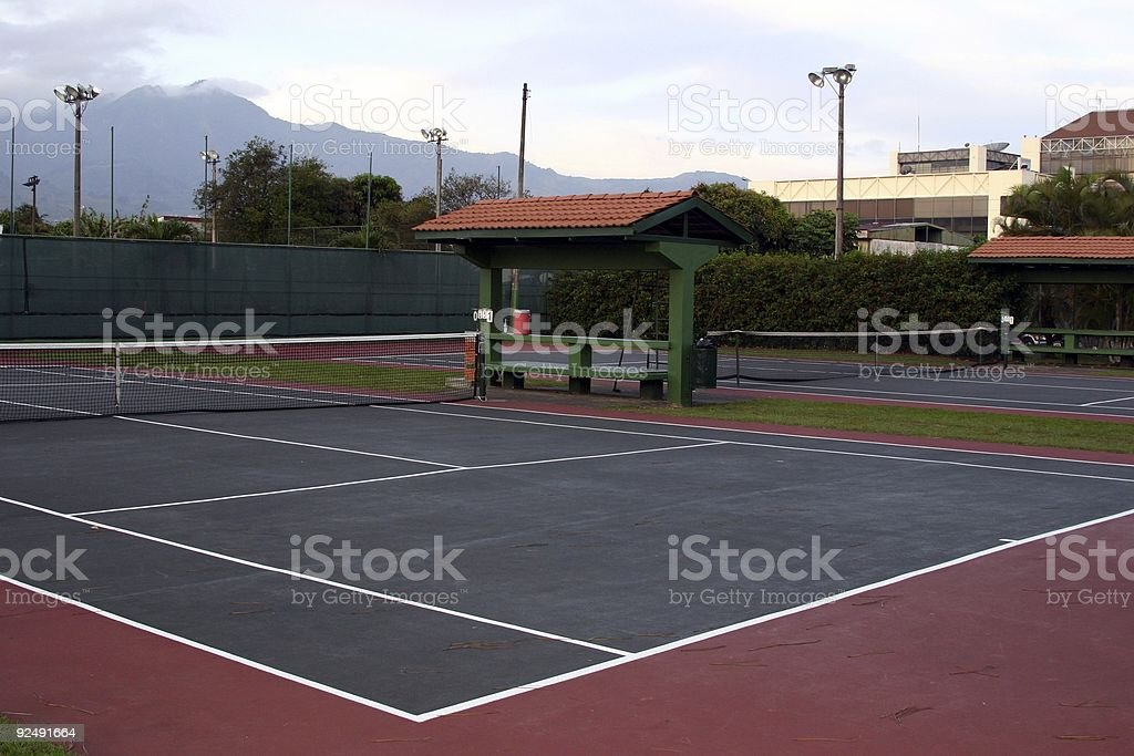 Costa Rica : On the Court royalty-free stock photo