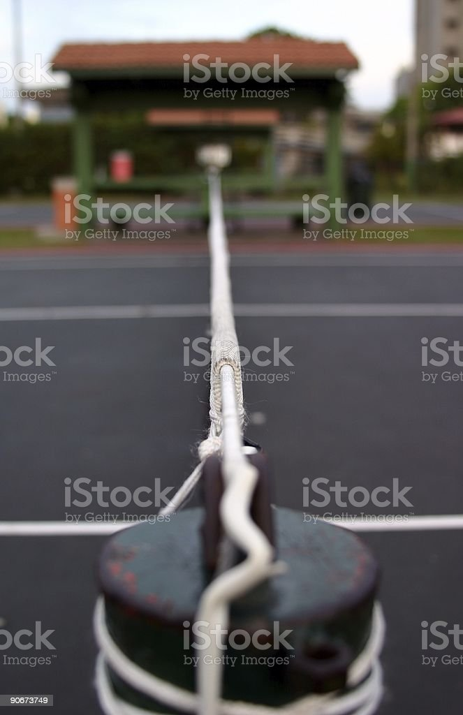 Costa Rica : On the Courts royalty-free stock photo