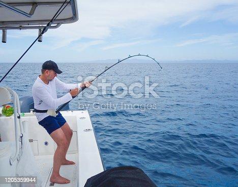 Costa Rica sports fisherman