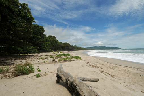 Costa Rica Tropical Beach And Coastline Stock Photo - Download Image Now