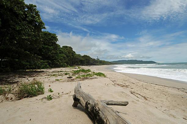 Costa Rica Tropical Beach and Coastline stock photo