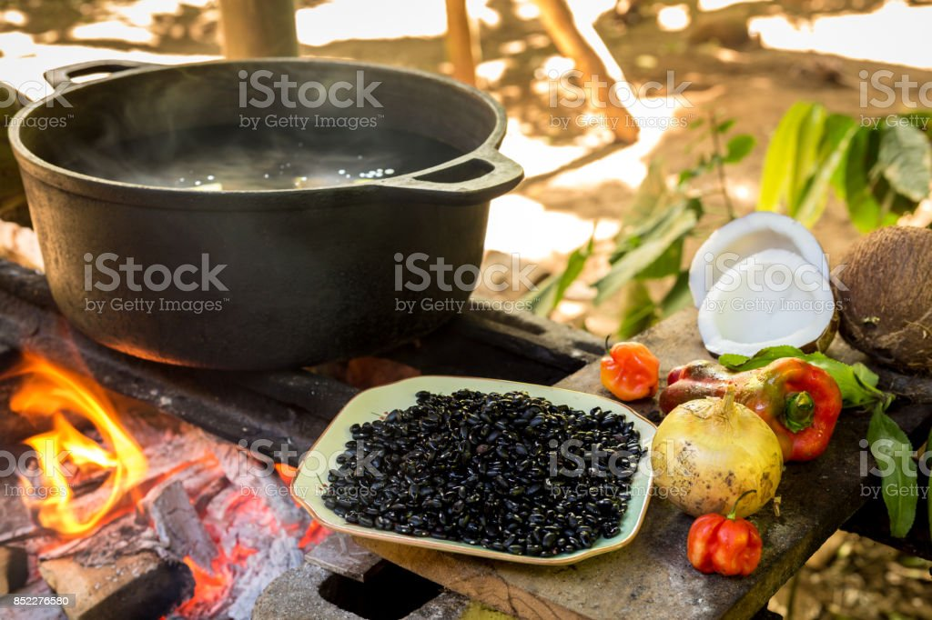 Costa Rica Typical Food stock photo