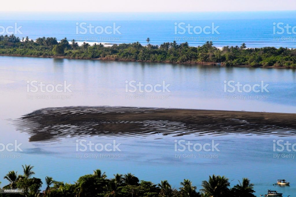 Costa Rican islands royalty-free stock photo