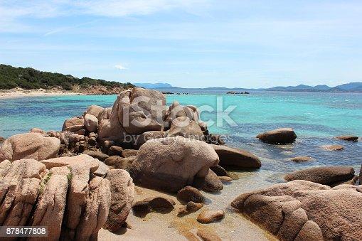 Sardinia, Beach, Italy, Costa Smeralda, Springtime