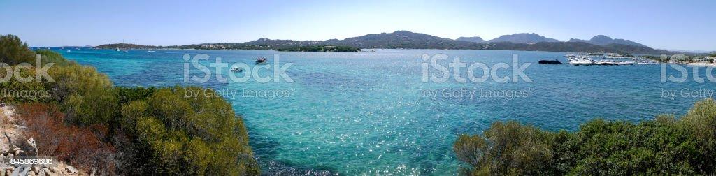 Costa Smeralda Sardinia stock photo