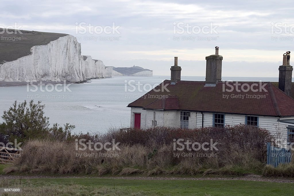 Costal cliffs royalty-free stock photo