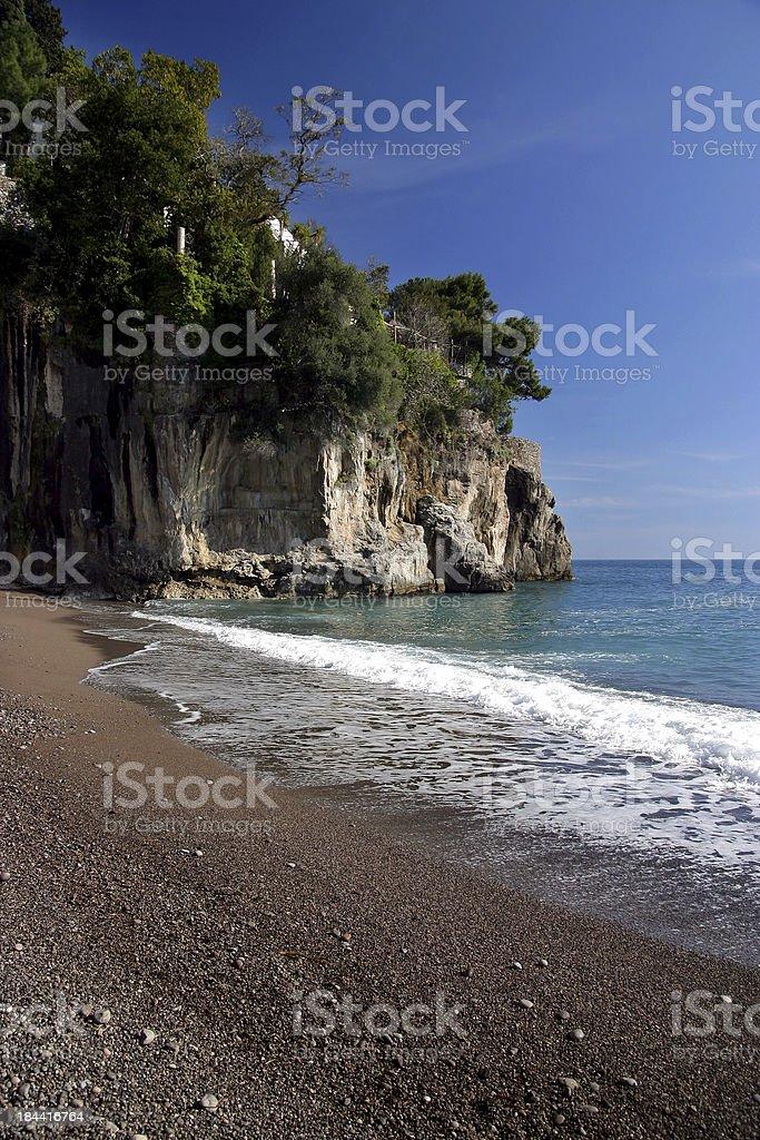costiera amalfitana stock photo