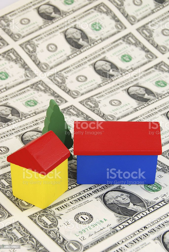 costs of building a house royalty-free stock photo