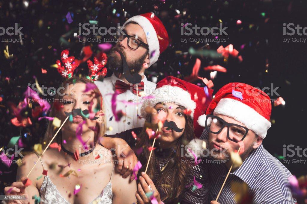 Costume ball stock photo
