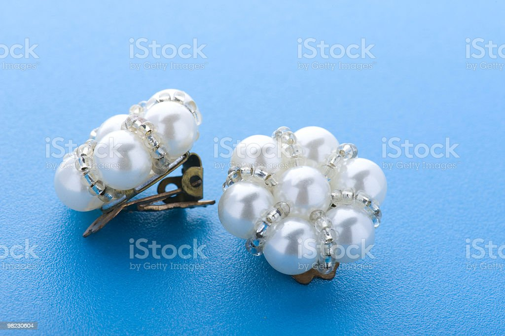 costume jewellery earring royalty-free stock photo