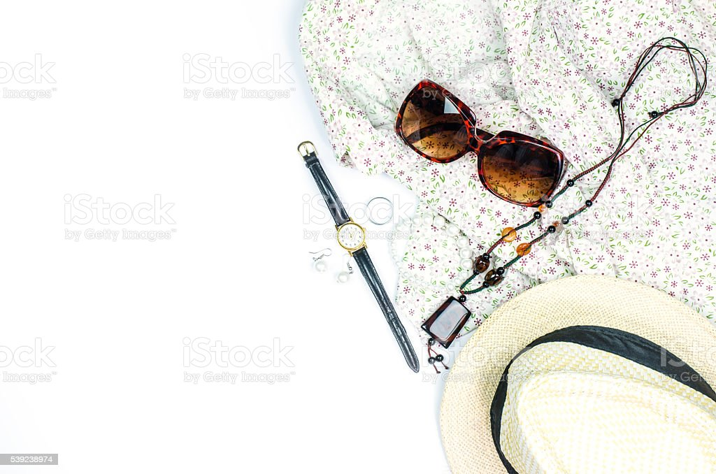 Costume on a white background foto royalty-free