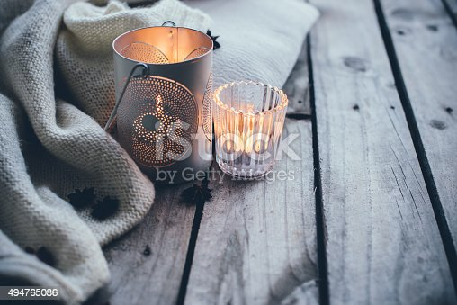 istock Cosy and soft winter background 494765086