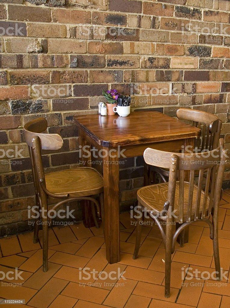 Cosy cafe royalty-free stock photo