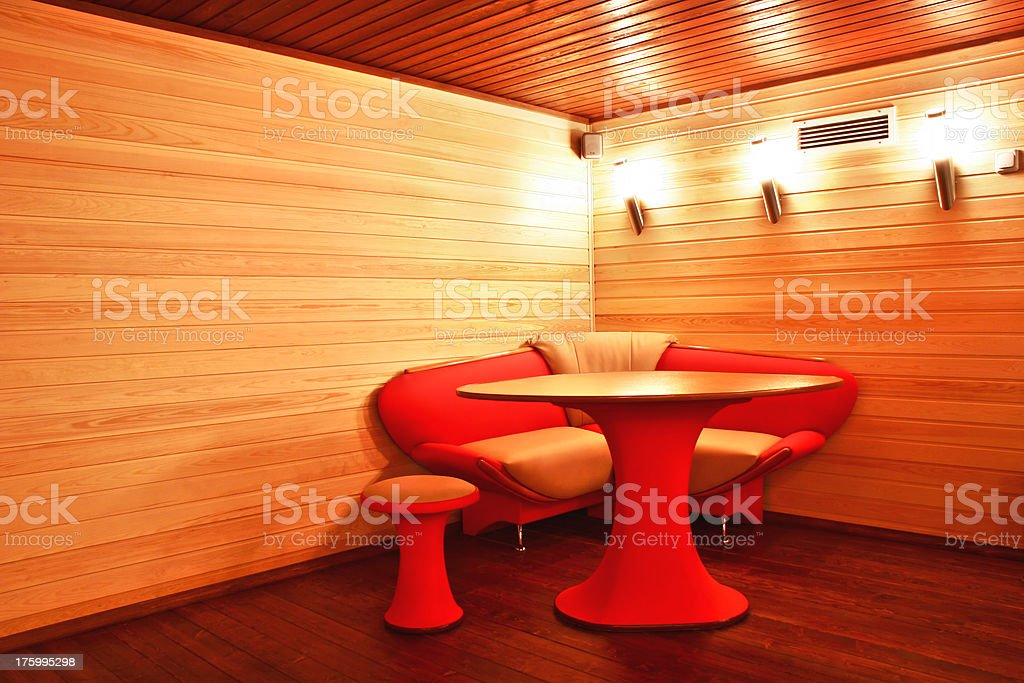 Cosy interior royalty-free stock photo