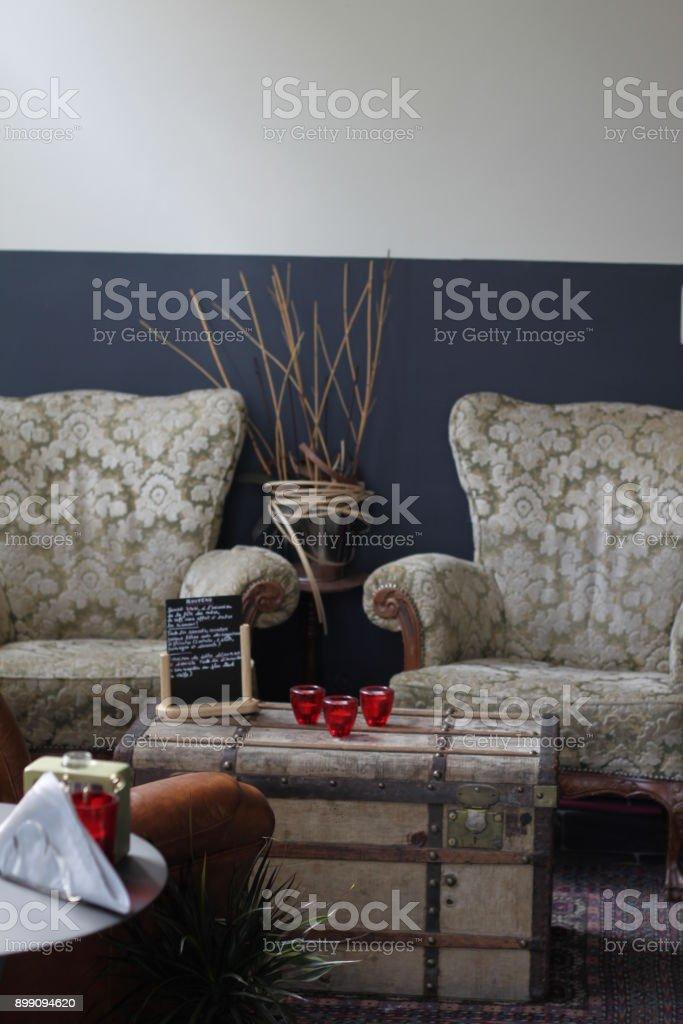 Salon de salon cosy - Photo