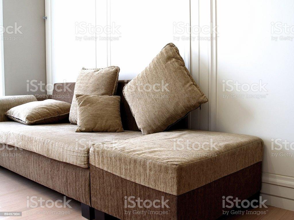 Cosy Sofa royalty-free stock photo