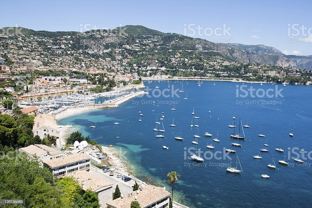 Cote d'Azur - France royalty-free stock photo
