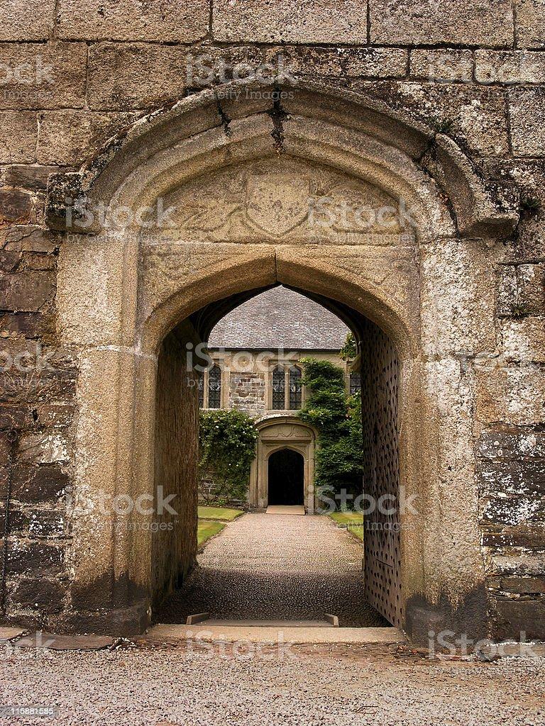 Cotehele Manor royalty-free stock photo