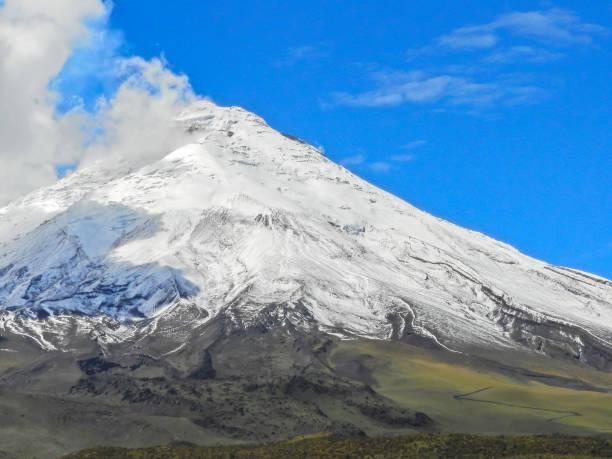 Cotopaxi Volcano, Ecuador stock photo