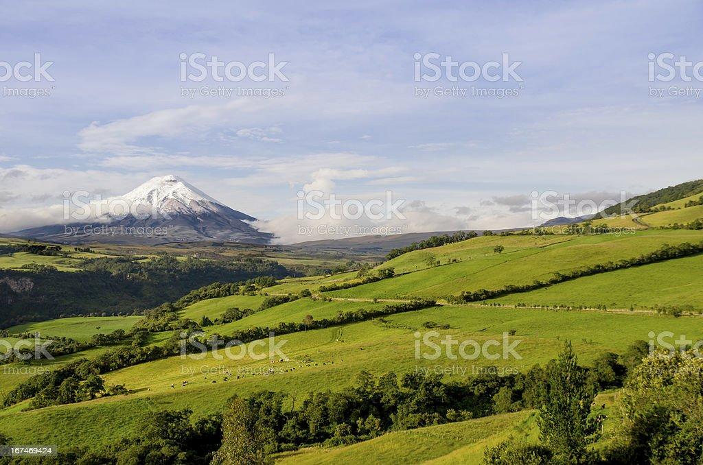 Cotopaxi volcano, Ecuador. royalty-free stock photo