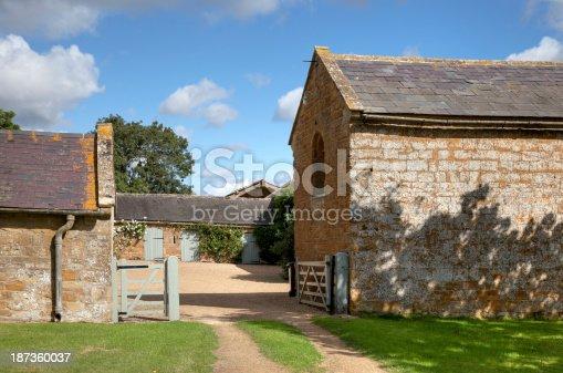 istock Cotswold farmyard 187360037