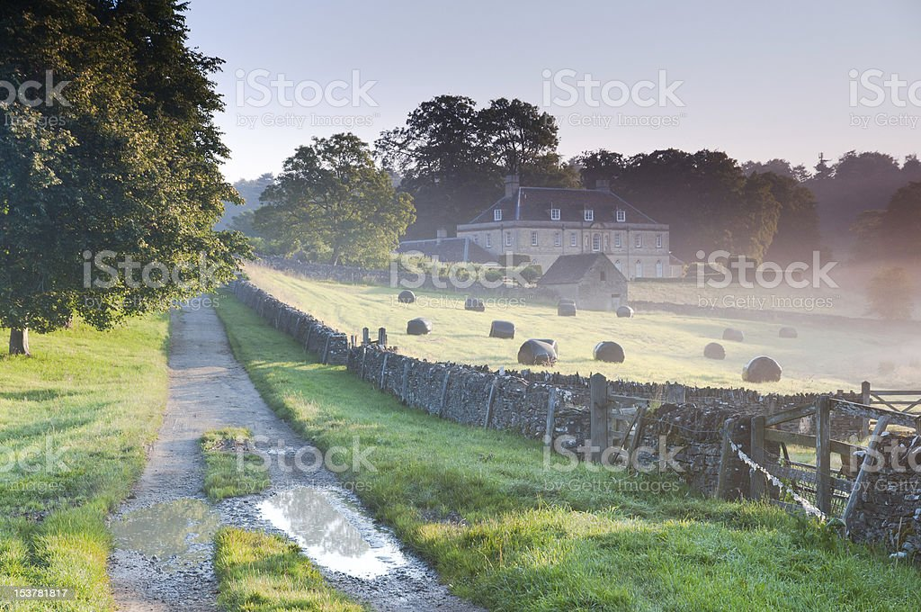 Cotswolds countryside stock photo