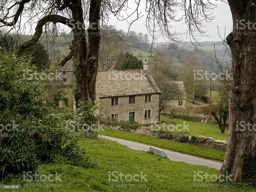 Cotswolds in Spring stock photo