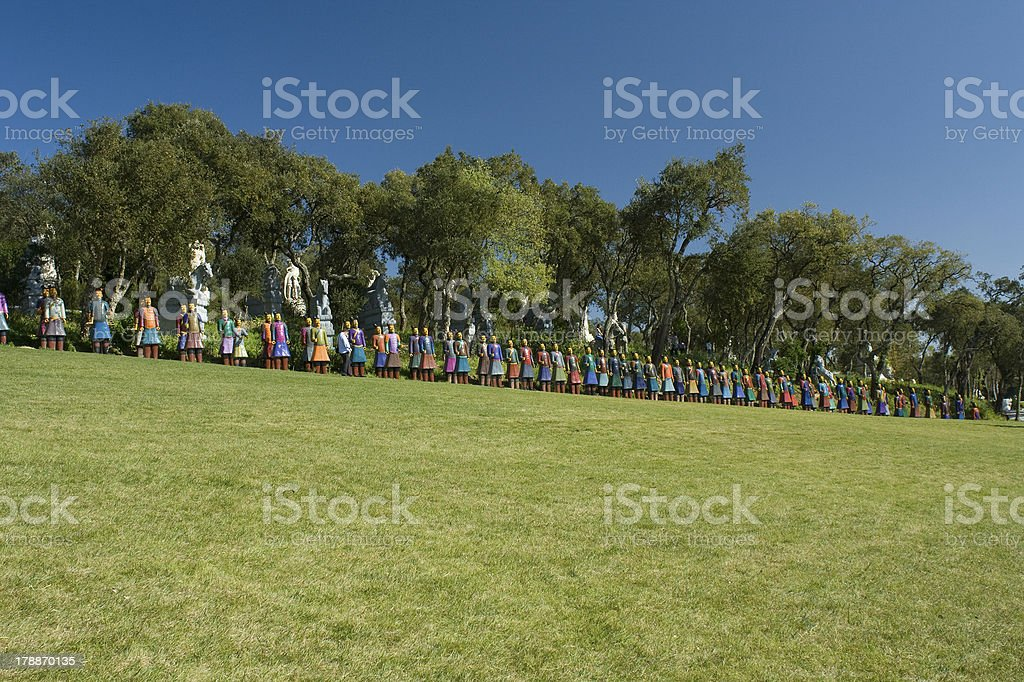 Cotta Warriors royalty-free stock photo