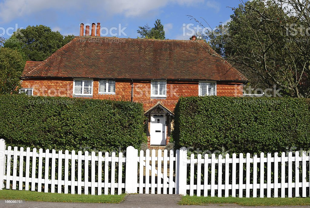 Cottage at Chiddingfold. Surrey. England royalty-free stock photo