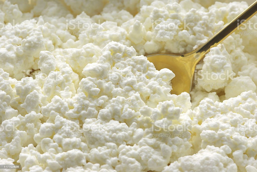 Cottage cheese royalty-free stock photo