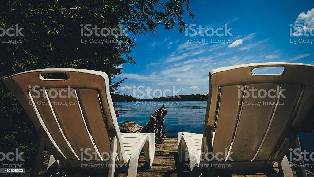 Cottage Life stock photo