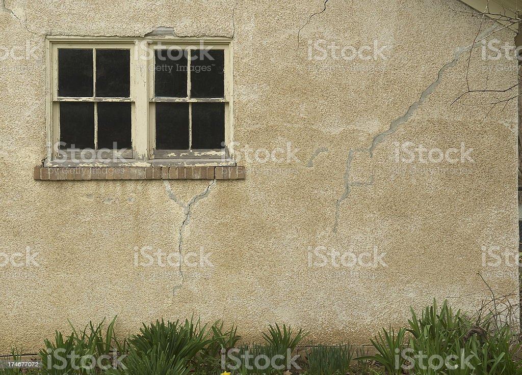 Cottage Windows royalty-free stock photo