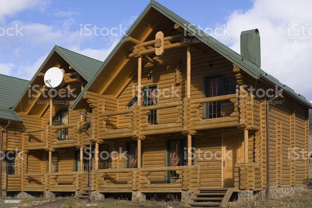 Cottages for rent - Royalty-free Building - Activity Stock Photo