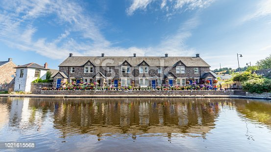 istock Cottages in Brecon Beacons National Park 1021615568