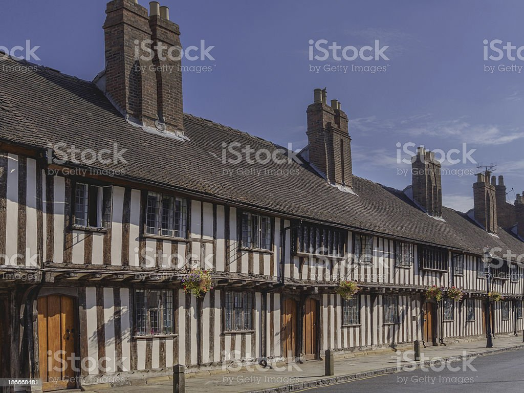 cottages royalty-free stock photo