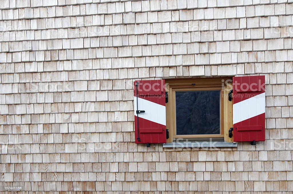 Cottage-Window royalty-free stock photo