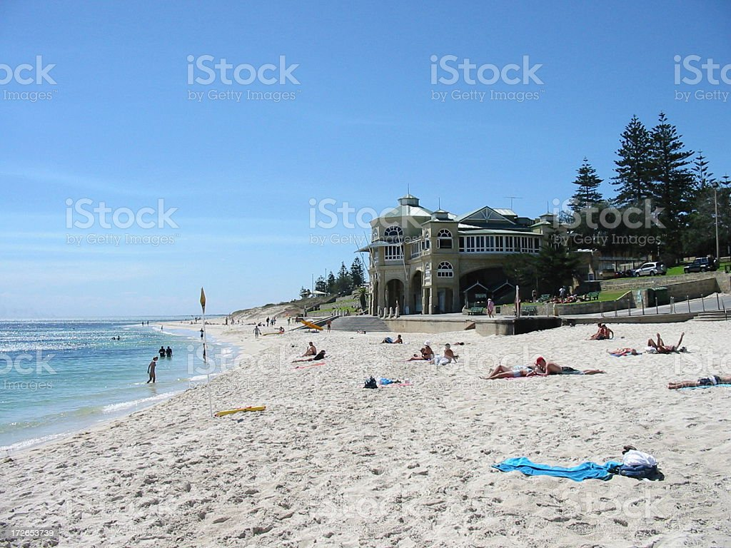 Cottlesloe Beach stock photo